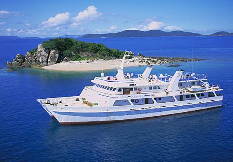 Enjoy Vacations in Sea